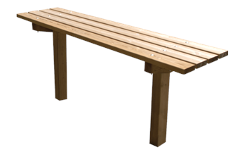 Tafel Timberstyle 4 GR onbeh.